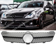 MERCEDES W219, C219 LCI 2008+, UNO-FIN Grill, CLS63/55 Gloss Black serie AMG LOOK.
