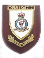 RAF Bomber Command Personalised Royal Air Force Wall Plaque UK Made for Mod