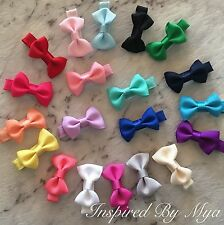 Girls Baby Toddler Hair Clip Small Bow School Dance Party Hair Accessories