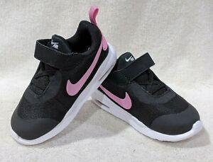 Nike Air Max Oketo (TDV) Black/Pink Toddler Girl's Sneakers-Size 6/7/8/9/10C NWB