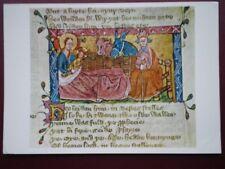 POSTCARD RELIGIOUS C.68 NATIVITY - STORY OF THE GOSPEL