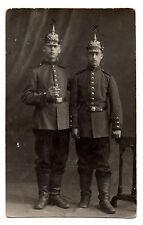 Originalfoto  Kabinettfoto Pickelhaube Preusen