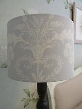 Handmade Drum Lampshade Laura Ashley Josette Seaspray Blue fabric 30cm