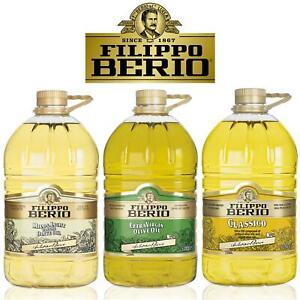 Filippo Berio Mild Light Classic Extra Virgin Olive Bake Dressing Cooking Oil 5L