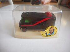 """Guisval Mercedes """"A-Team"""" Van in Black on 1:64 in Box"""