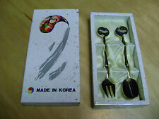 teaspoon set Forks/spoon Gold tone beautiful new in box