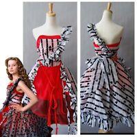 Tim Burton Adult Alice In Wonderland Alice's Dress Cosplay Costume Party Dress