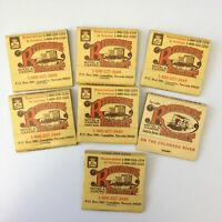 Riverside Resort Hotel & Casino Laughlin Matchbook Covers Lot of 7 Vintage