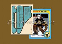 Jim Pettie - Boston Bruins - Custom Hockey Card  - 1978-79