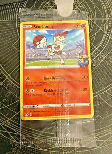 Pokemon Hopplo Scorbunny on the Ball 004/005 Futsal Promo Karte | ENGLISCH TCG