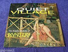 Martin Denny 1959 Liberty LP Quiet Village Turquoise label Exotica Cheesecake