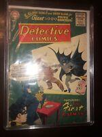 Detective Comics 235 Good 2.0 Origin Batman & Costume John Jones Last GA 1956