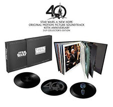 Star Wars Episode IV Un nouvel espoir 40th Anniversaire 3 x vinyl LP Collectors Box Set