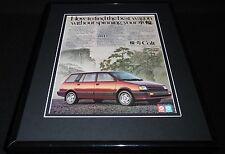 1987 Dodge Colt 11x14 Framed ORIGINAL Vintage Advertisement