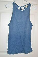Womens Anthropologie Cloth & Stone gauze cotton tank top, Size M NWT