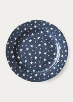 """Ralph Lauren Home Blue Stars Burleigh Midnight Sky Dinner Plate, 10 2/5"""""""