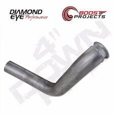 "Diamond Eye Aluminized 4"" Down Pipe fits 99-03 Ford 7.3L PowerStroke 120005"