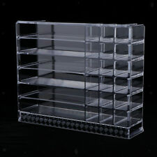 Cosmetic Organizer Acrylic Makeup Box Shelf Eyeshadow Jewellery Table Holder