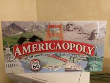 America-Opoly (AmericaOpoly) A USA themed Monopoly Game NEW in BOX