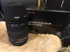 Sigma 18-200 F3.5-6.3 DC OS SLD Glass For Canon - Boxed