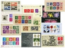 GB MINIATURE SHEETS..Used CTO. 1999-2012.. PRICED INDIVIDUALLY
