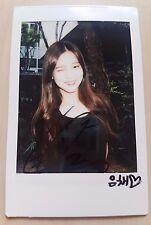 DIA Eun Chae signed/autographed authentic HAPPY ENDING polaroid / i.o.i ioi bts
