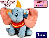 Disney Dumbo Plush Soft Toy with Sound 31cm Very Soft Touch Cuddle Kids Children