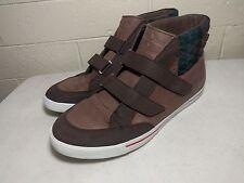 Cole Haan Air Newport Chukka size 13 C09693 Nike Brown Plaid Pattern RARE Strap