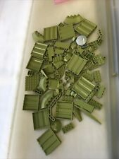 Lego Olive Drab Parts Lot