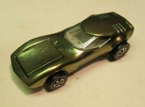 Original 1968 Mattel Redline Hot Wheels Gold Torero Car Nice Condition No Res