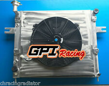 Aluminum radiator for JEEP GRAND CHEROKEE 4.0L L6 1999-2004 + Shroud+FAN