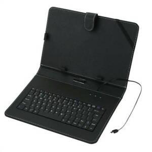 """Custodia Protettiva con tastiera Interfaccia micro-USB per Tablet PC 10.1 """"MID"""