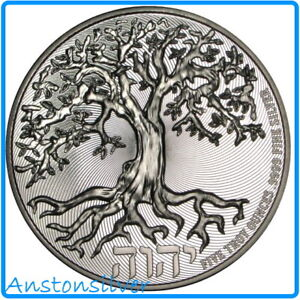 2021 5 oz High Relief Tree of Life - .9999 Silver Encapsulated
