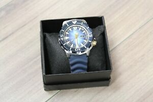 Rare Seiko 4R36 Limited Edition Blue Monster SRP455 Automatic Diver's Watch