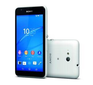 Sony XPERIA E4g in Weiß Handy Dummy Attrappe - Requisit, Deko, Werbung
