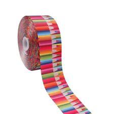 """2Yard/lot 3"""" Unicorn Pencils Printed Grosgrain Ribbon Home Textile DIY Materials"""