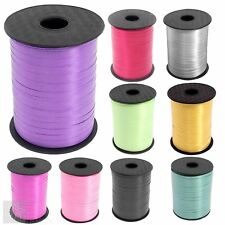 500m Curling Ribbon For Foil Balloons Wedding Gift Tie Wrap Craft 500 Metre Roll