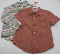 Set of 2 Mixed Brands Boys Toddlers Multi Color Button Ups Size 3T Holiday