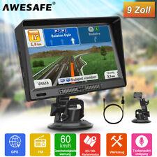 AWESAFE 9 Zoll GPS Navigationsgerät Auto LKW PKW Navi Navigation mit EU Karte BT