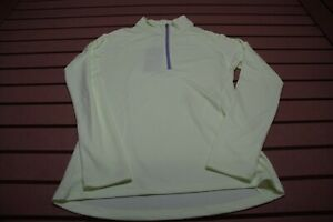 New Under Armour Golf Pullover Ladies Size Medium Green Outerwear Clothing