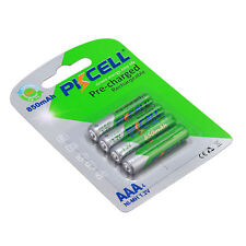 4 x PKCELL Low self-discharge Durable 1.2V 850mAh AAA NiMH Rechargeable Battery