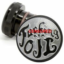 Harley Davidson Black Oil Tank Cap For Softail Springer Fat Boy Night Train