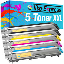5 Toner XXL für Brother TN-241 TN-245 DCP-9015 CDW DCP-9020 CDW HL-3140 CW