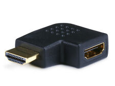 HDMI Right Angle Port Saver Adapter (Male to Female) - 90 Degree  Vertical Flat