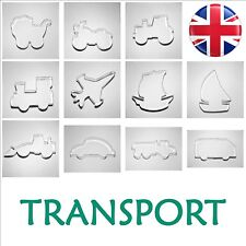 TRANSPORT - BUY 4 or more GET 20% OFF Cookies Cutters Vehicles Biscuit UK stock