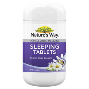 Nature's Way Sleeping Tablets 60 Tablets for Restful Sleep Natures Way