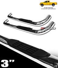 "FOR 2005-2011 DAKOTA CLUB CAB 3"" CHROME SIDE STEP NERF BARS rail running boards"