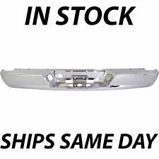 NEW Chrome - Steel Rear Bumper Face Bar For 2002-2009 Dodge Ram 1500 2500 3500