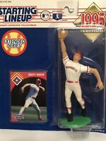 1995 Rusty Greer Starting Lineup figure Card toy Texas Rangers Baseball MLB