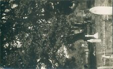 More details for real photo; aldenham church; trees out of tomb;1917; camp trinity road